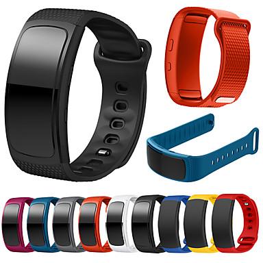 voordelige Horlogebandjes voor Samsung-Horlogeband voor Gear Fit Pro / Gear Fit 2 Samsung Galaxy Sportband Silicone Polsband