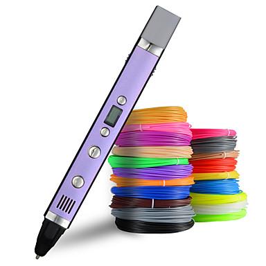 Недорогие Аксессуары для 3D-принтеров-myriwell 1.75 мм abs / pla diy 3d ручка светодиодный экран, USB зарядка 3d печать ручка творческая игрушка подарок для детей дизайн