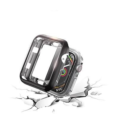 Недорогие Кейсы для Apple Watch-чехол для яблочных часов серии 4/3/2/1 силиконовые модные мягкие чехлы iwatch