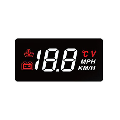 voordelige Head-up displays-LED Head Up Display LED-indicator voor Automatisch Meet de rijsnelheid