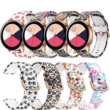 Недорогие Часы для Samsung-ремешок для часов samsung galaxy watch 42 / samsung galaxy active / gear s2 samsung galaxy modern пряжки / спортивный ремешок силиконовый ремешок