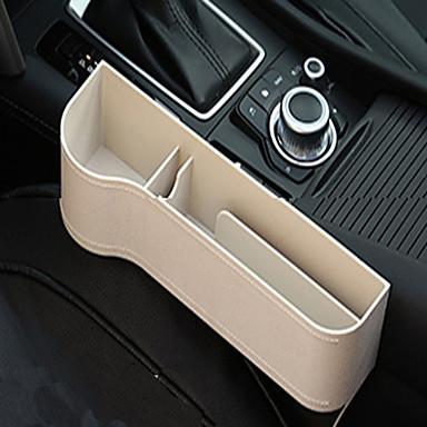 Χαμηλού Κόστους Αξεσουάρ για εσωτερικά αυτοκινήτου-πολυλειτουργικό δερμάτινο κουτί αποθήκευσης για το κενό του καθίσματος αυτοκινήτου