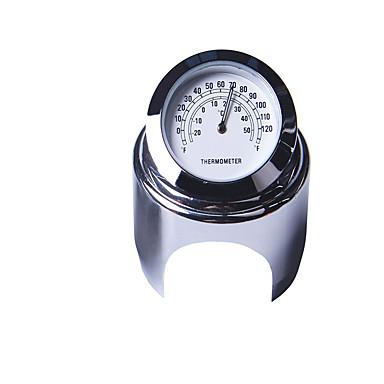 22-25mm motocicleta ceas de mana ceas termometru impermeabil cadran ghidon pentru yamaha kawasaki etc