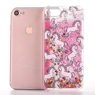 Недорогие Кейсы для iPhone-чехол для яблока iphonex / iphonexs / iphonexr / iphone 8 plus / iphone 8 прозрачный / пыленепроницаемый / водостойкий задняя крышка однотонная мягкая тпу для iphone 6 / iphone 6 plus / iphone 6s