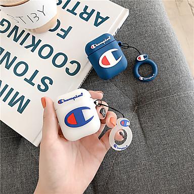 ieftine Cazuri AirPods-Maska Pentru AirPods Anti Șoc / Anti Praf / Model Cască pentru căști Moale