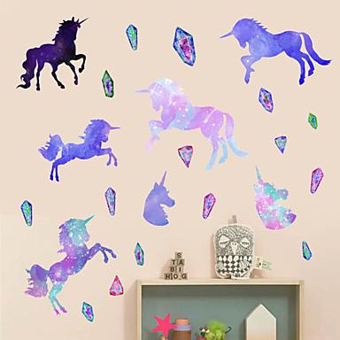 ราคาถูก Wall Art-สติ๊กเกอร์ประดับผนัง - Plane Wall Stickers / สติกเกอร์ติดผนังสัตว์ สัตว์ต่างๆ / Still Life สถานรับเลี้ยงเด็ก / ห้องสำหรับเด็ก