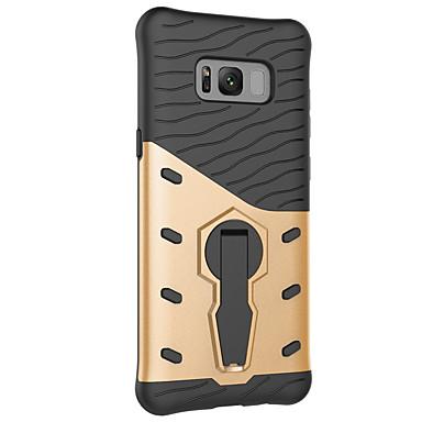 voordelige Galaxy S-serie hoesjes / covers-prachtige hoes beschermhoes met 360 graden draaiende telefoonbeugel voor Samsung S8 / S8 Plus