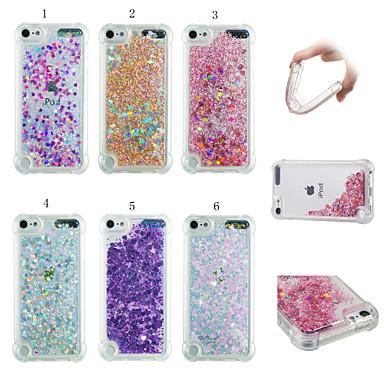 voordelige iPhone 6 hoesjes-hoesje Voor Apple iPhone XS / iPhone XR / iPhone XS Max Schokbestendig / Stofbestendig / Stromende vloeistof Achterkant 3D Cartoon / Glitterglans Zacht TPU