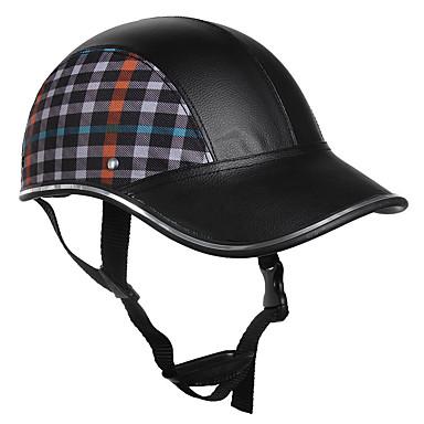 voordelige Motorhelmen-lichtgewicht unisex zomer fietshelm baseball cap voor motorfiets fietsen
