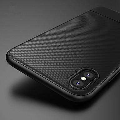 Недорогие Кейсы для iPhone-чехол из мягкого тпу из углеродного волокна для iphone xs max xr xs x 8 плюс 8 7 плюс 7 6 плюс 6 чехол силиконовый чехол