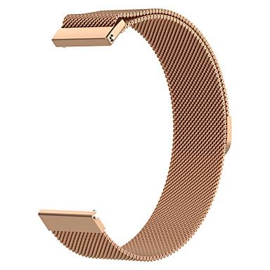 Недорогие Ремешки для часов Huawei-ремешок для часов ticwatch pro / huawei ремешок для часов gt huawei milanese loop из нержавеющей стали ремешок на запястье