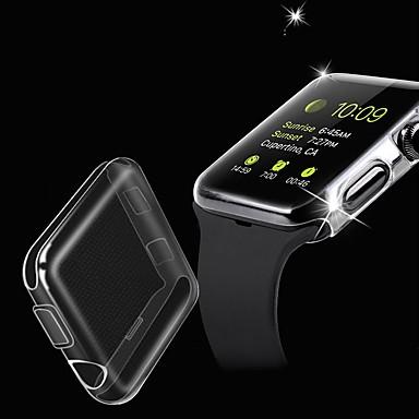 Недорогие Кейсы для Apple Watch-чехлы для яблочных часов серии 4/3/2/1 совместимость с тпу apple