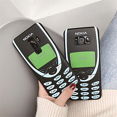 voordelige Galaxy Note-serie hoesjes / covers-hoesje Voor Samsung Galaxy Note 9 / Note 8 IMD / Patroon Achterkant Woord / tekst Zacht TPU