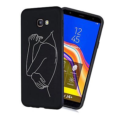 voordelige Galaxy J-serie hoesjes / covers-hoesje Voor Samsung Galaxy J7 (2017) / J6 (2018) / J5 (2017) Schokbestendig / Mat / Patroon Achterkant Tegel Zacht TPU