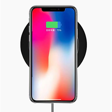 Недорогие Гаджеты для Samsung-qc3.0 10 Вт Ци беспроводное зарядное устройство USB для док-станции быстрой зарядки iphone X / 8/8 для Samsung S9 / S9 / S8 / S8 / Note8