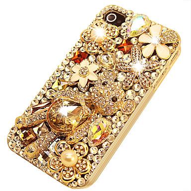 voordelige iPhone 7 hoesjes-hoesje Voor Apple iPhone XS / iPhone XR / iPhone XS Max Strass / DHZ Achterkant Effen Acryl