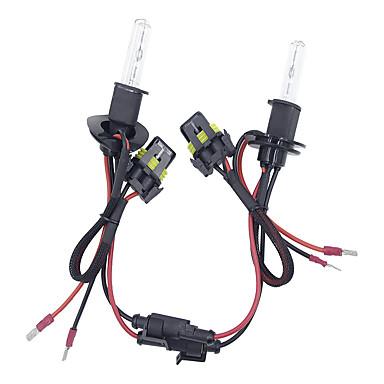 voordelige Autokoplampen-2 stks / set 55 w h3 verborg xenon koplamp lampen conversie kit 3000-12000 k voor carkit typebulb * 2 ballast * 2 kleurtemperatuur 6000 k