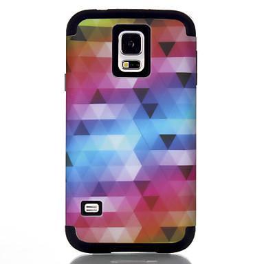 Недорогие Чехлы и кейсы для Galaxy S6-Кейс для Назначение SSamsung Galaxy S7 / S6 edge / S6 Защита от удара Кейс на заднюю панель Полосы / волосы / Геометрический рисунок / Градиент цвета ТПУ / ПК
