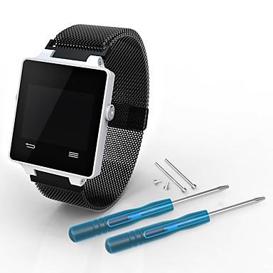 voordelige Smartwatch-accessoires-Horlogeband voor VivoActive HR Garmin Milanese lus Roestvrij staal Polsband
