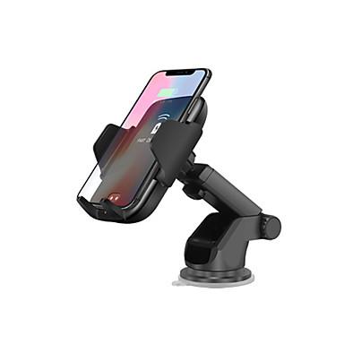 Недорогие Гаджеты для Samsung-автоматическое инфракрасное ци беспроводное зарядное устройство вентиляционное отверстие автомобильное крепление 10 Вт держатель для быстрой зарядки для iphone 8 x xs max xr samsung s9 s8