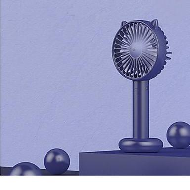 voordelige Slimme trackers-kleine ventilator draagbare mini usb-oplaadventilator kantoor desktop student slaapzaal bed handheld draagbare tafel elektrische handventilator kleine schattige ultrastille grote wind