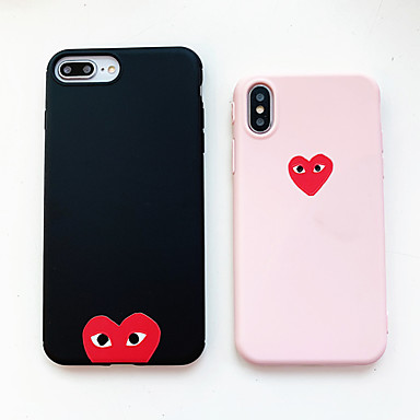 voordelige iPhone 7 hoesjes-hoesje Voor Apple iPhone XS / iPhone XR / iPhone XS Max Ultradun / Patroon Achterkant Cartoon TPU