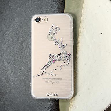 voordelige iPhone 5 hoesjes-hoesje Voor Apple iPhone XS / iPhone XR / iPhone XS Max Stofbestendig / Ultradun / Doorzichtig Achterkant Cartoon TPU