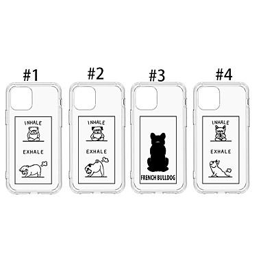 voordelige iPhone X hoesjes-hoesje Voor Apple iPhone 11 / iPhone 11 Pro / iPhone 11 Pro Max Stofbestendig / Patroon Achterkant Hond / Transparant / dier TPU