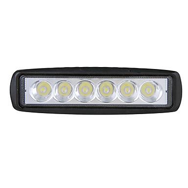 voordelige Automistlampen-18w led werklamp vrachtwagen mistlamp suv medium netto waarschuwingslampje motorfiets flitslicht 6 inch striplicht