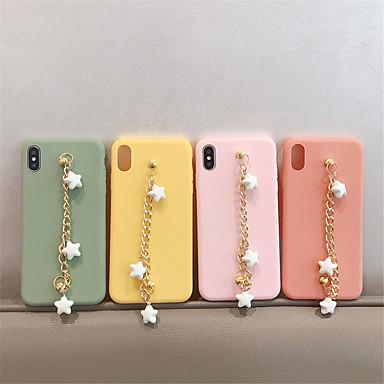 voordelige iPhone 6 hoesjes-hoesje Voor Apple iPhone XS / iPhone XR / iPhone XS Max Mat / DHZ Achterkant Effen TPU