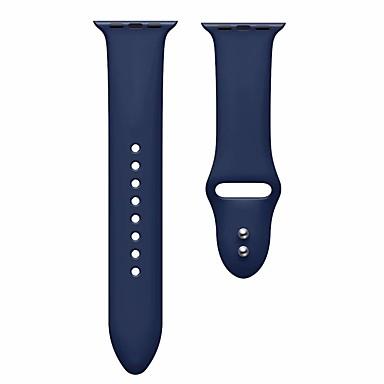 Недорогие Ремешки для Apple Watch-ремешок для часов для серии Apple Watch 5/4/3/2/1 силиконовый ремешок для браслета apple sport band