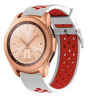 voordelige Horlogebandjes voor Samsung-sport band voor samsung galaxy horloge 42 mm / versnelling s2 classic / versnelling sport / galaxy actieve siliconen vervangende polsband rubberen horlogeband armband horlogeband