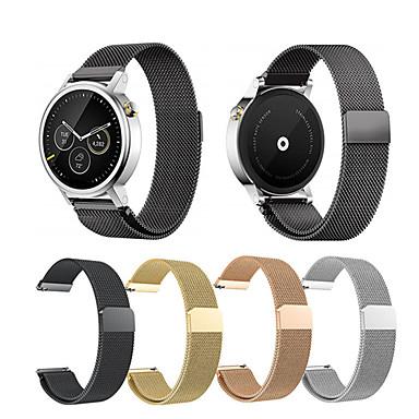 voordelige Smartwatch-accessoires-roestvrij staal milan vervangende horlogeband band voor moto 360 2e 42 mm / 46 mm