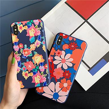 voordelige iPhone 6 Plus hoesjes-Flower TPU Case voor Apple iPhone 11 Pro Max 8 Plus iPhone 7 Plus 6 Plus Max Patroon Achterkant