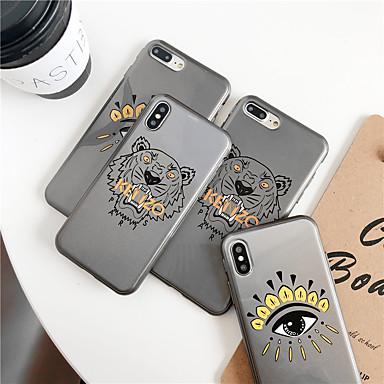 voordelige iPhone X hoesjes-glitter shine cartoon tpu-hoesje voor Apple iPhone 11 pro max 8 plus 7 plus 6 plus max patroon achterkant