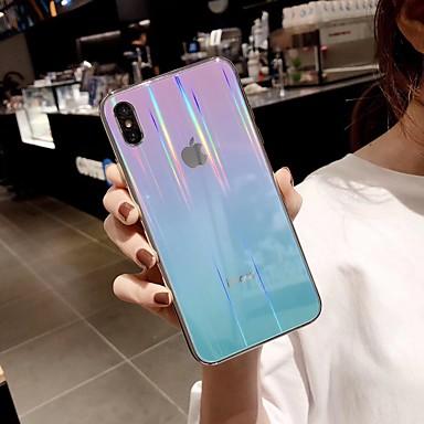 voordelige iPhone-hoesjes-hoesje Voor Apple iPhone XS / iPhone XR / iPhone XS Max Ultradun / Patroon Achterkant Kleurgradatie TPU