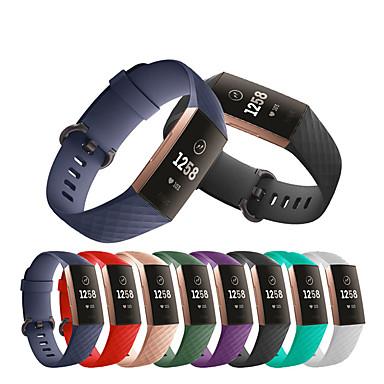 voordelige Smartwatch-accessoires-horlogeband polsband voor fitbit charge 3 sport siliconen vervangbare armband polsband