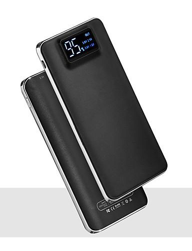 저렴한 보조배터리-20000mah 5v 2a 휴대용 전원 은행 충전기 손전등 led 스마트 디지털 디스플레이 외부 배터리 충전기 휴대 전화