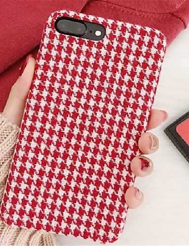 cheap iPhone Cases-Case For Apple iPhone X / iPhone 7 Plus Pattern Back Cover Lines / Waves Hard PC for iPhone X / iPhone 8 Plus / iPhone 8