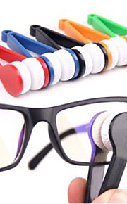 1 pc Eyeglasses Cleaner Portable / Multi-function for Portable / Multi-function Microfiber / ABS - Yellow / Green / Blue