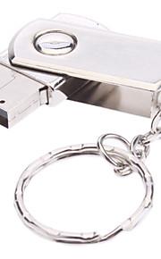 usb de 16gb girar material metal mini