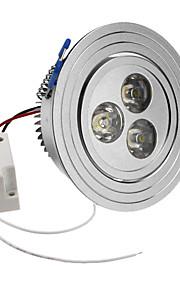 SENCART 6500 lm Taklys Innfelt lampe Innfelt retropassform 3 leds Høyeffekts-LED Naturlig hvit AC 85-265V