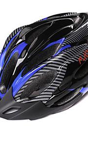FJQXZ לשני המינים מחשב + EPS 21 פתחי אוורור שחור + הכחול Ajustable רכיבה על אופניים קסדה