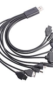 Micro USB Adattatore cavo USB Normale Cavi Per Samsung Plastica