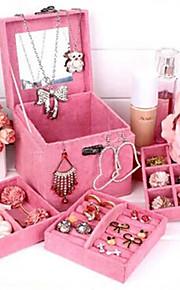 Dame Smykkeskrin Gul Rød Blå Grøn Lilla Pink Papir Mode Fest Daglig Afslappet
