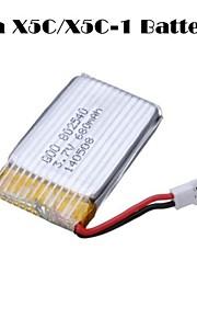 3.7v 680mAh bateria zangão Quadrotor para syma x5C x5C-1 x5sc x5sw cheerson cx30w cx30s