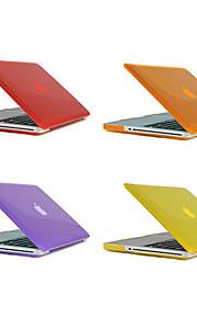 MacBook Etuis Couleur Pleine Plastique pour MacBook Pro 15 pouces / MacBook Pro 13 pouces