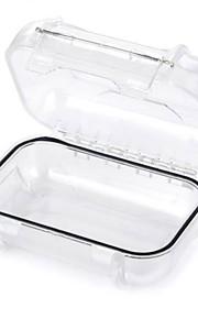屋外耐水オーガナイザー収納ケースをedcgear  - 透明