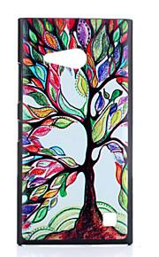 제품 노키아 케이스 케이스 커버 패턴 뒷면 커버 케이스 나무 하드 PC 용 Nokia Nokia Lumia 730
