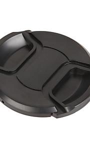 Dengpin para canon eos 77d lente de 18-200mm tampão de lente de câmera de 72mm com uma corda de trela de suporte